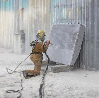 Abrasive blasting and painting tauranga tauranga sandblasting for Sandblasting and painting